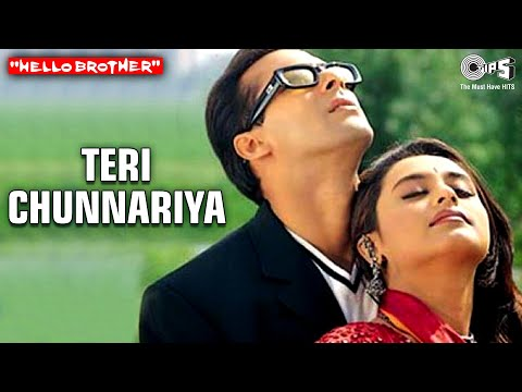 Teri Chunnariya - Hello Brother | Salman Khan & Rani Mukherjee | Alisha Chinai & Udit Narayan video