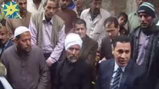بالفيديو:محافظ الشرقية يقدم واجب العزاء فى اسرة شهيد قرية صبيح