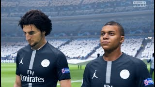 PSG vs Manchester City FIFA 19 Difficulté Ultime Gameplay PC UCL
