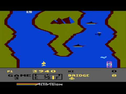 "In this ""A Closer Look"" video review, I'll examine the Atari 5200/8-Bit version of River Raid."