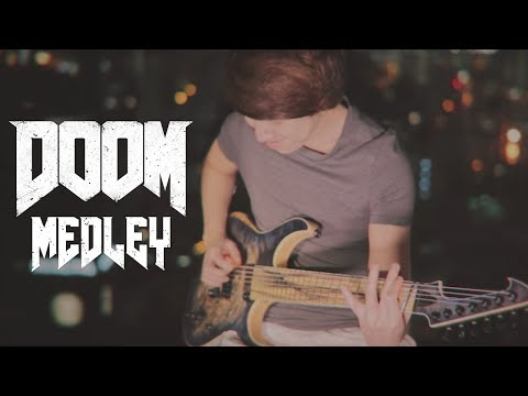 DOOM (2016) OST Medley - BFG Division and Rip & Tear by Mick Gordon (Guitar Cover)