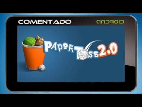 Paper Toss 2.0 - Android [PT-BR]