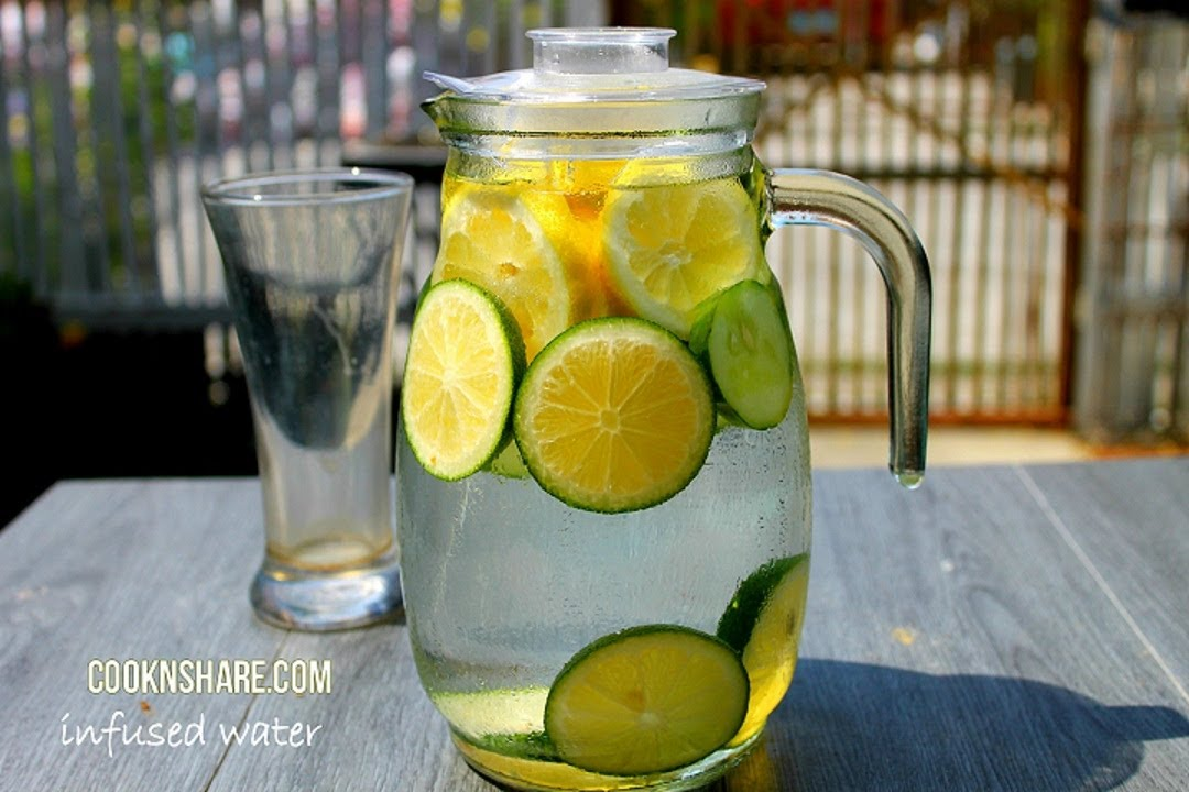 Detox Infused Water Lemon Lime And Cucumber Episode