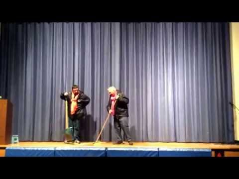 """""""Beat it Snow"""" performed by teachers at Lionville Elementary School at the Variety Show 2014."""