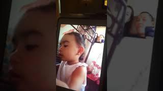 Baby princess love sing papa😍😍😍😘