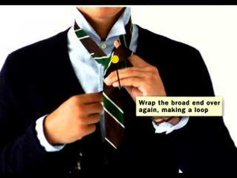 How to Tie a Tie from Rugby Ralph Lauren