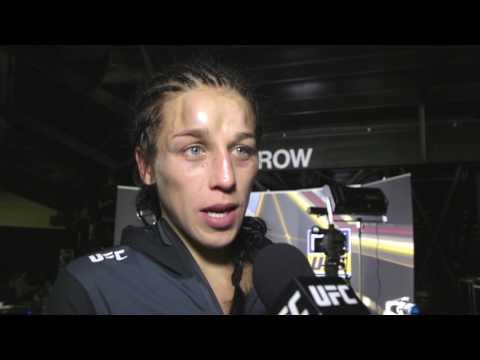 UFC 211: Joanna Jedrzejczyk Backstage Interview