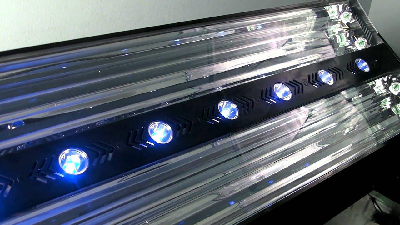 coralvue t5 and led aquarium light fixtures