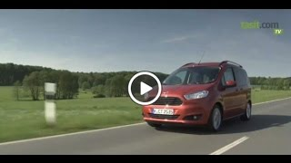 Ford Tourneo Courier 2015 Test Sürüşü