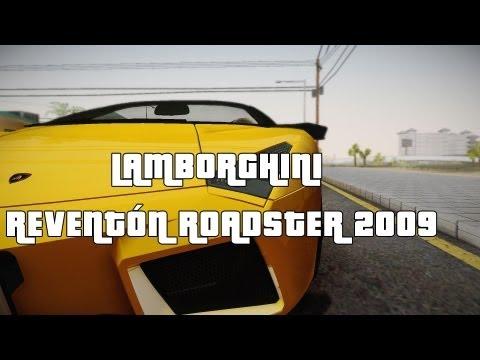 Lamborghini Reventón Roadster 2009