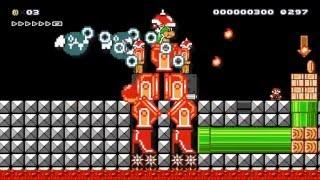 Super Mario Vs Mecha Bowzilla by Kiavik - SUPER MARIO MAKER - No Commentary