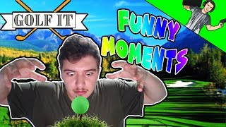 Golf It! FUNNY MOMENTS - Rage MOD activated!