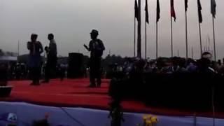 একাদশ জাতীয় রোভার মুটে মজার একটি  গান করলাম