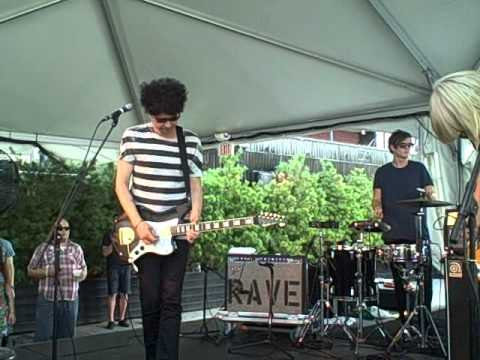 The Raveonettes -- War In Heaven - live @ Beekman/Seaport - July 31, 2011
