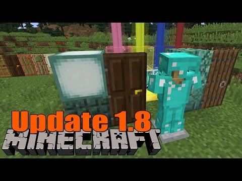 Minecraft Update 1.8 Release Heute   Übersicht neue Features!
