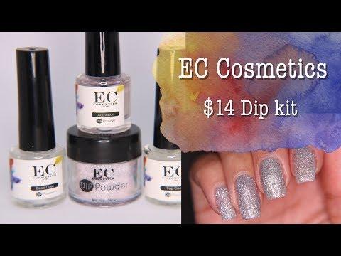 EC Cosmetics   My first dip powder