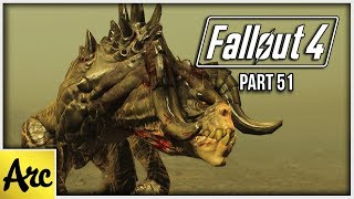 """Fallout 4 Gameplay """"THE GLOWING SEA"""" 