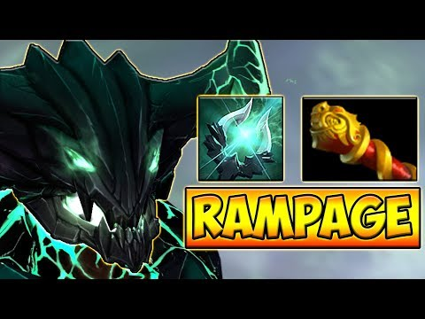 RAMPAGE! МКБ НА ОД ДОТА 2 █ OUTWORLD DEVOURER DOTA 2