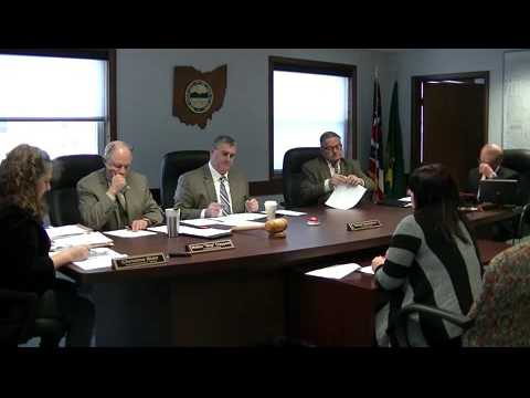 Geauga County Commissioners' Meeting, 1/21/2016