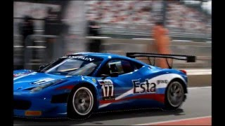 The making of picture: Ferrari 458 (FIA GT3). Photoshop Timelapse.