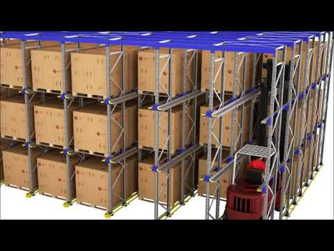 Drive in Racking System Design UK