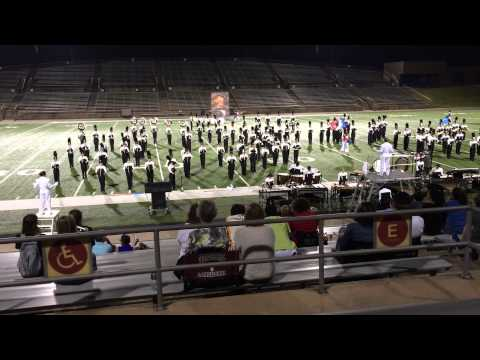 Foster High School Marching Band performance at UIL Competition 2014