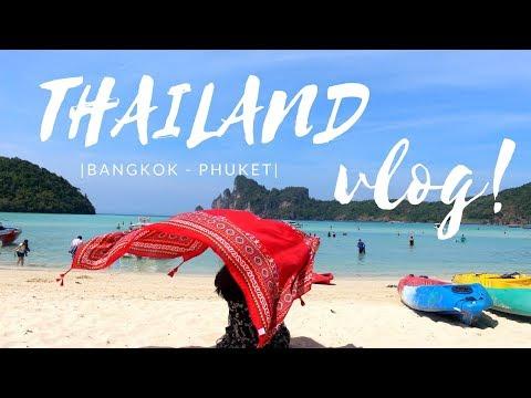 #6 [TRAVEL VLOG] // THAILAND 2019 | BANGKOK x PHUKET | Đến Thái Lan ăn gì? Chơi ở đâu? | Kiara lah |