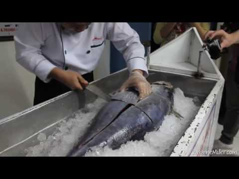 How to Make Tuna Sashimi