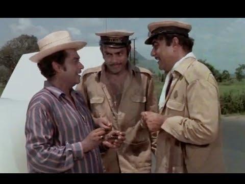 Bombay To Goa Funny Scenes - Mehmood Meets Kishore Kumar video