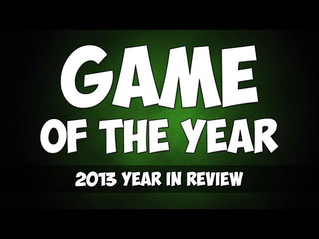 2013 - Game of the Year