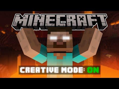 If Herobrine Had Creative Mode - Minecraft