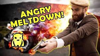 Motorcycle Shop Owner Goes Mental *ABSOLUTE MELTDOWN*