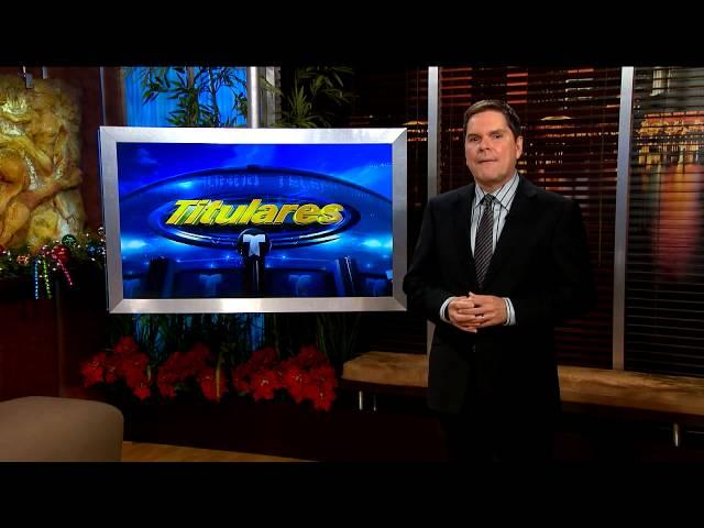 Titulares Telemundo / Orgulloso y satisfecho / Telemundo