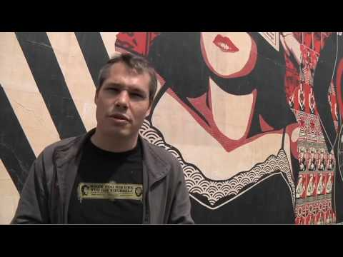 Wooster Collective Interviews: Shepard Fairey On Recent Work and Banksy's First Film