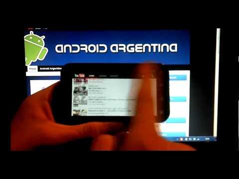 [Review] ICS-CM9 Motorola Defy por Android Argentina