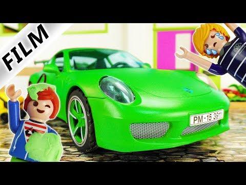Playmobil Film Deutsch JULIAN LACKIERT PORSCHE UM DAMIT ER MEHR TASCHENGELD BEKOMMT! Familie Vogel