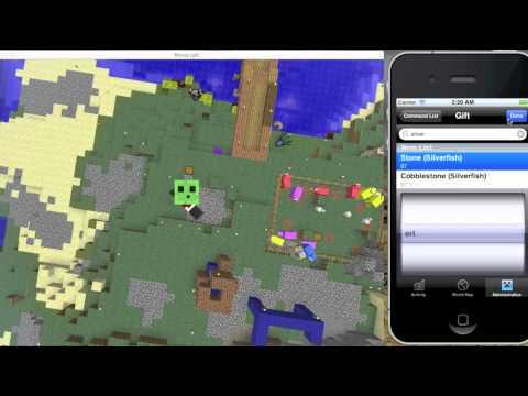 【Minecraft マルチ 鯖】 iPhoneでサーバーを管理する
