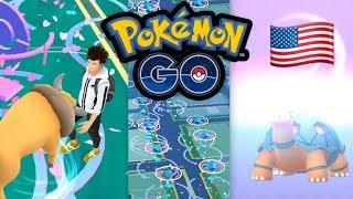 Tauros & Qurtel: Pokémon GO in Amerika + GO Fest Ausbeute   Pokémon GO Deutsch #681