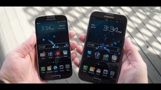 Galaxy S 4 vs Galaxy Note II