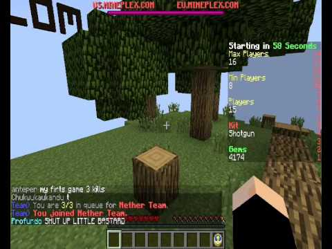 Minigame Scheiss über Sex Chat =d [minecraft] video