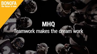 MHQ - Teamwork makes the dream work