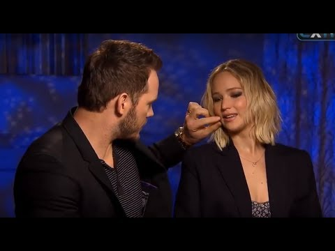 Chris Pratt Can't Stop Flirting With Jennifer Lawrence