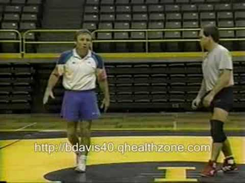 Barry Davis Wrestling Quickness Drill Image 1