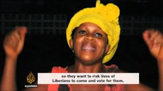 Low turnout for Liberia vote amid Ebola fears