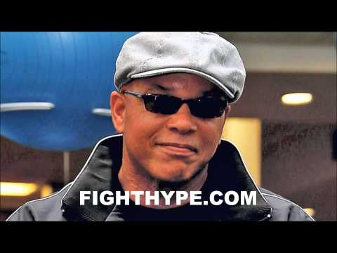 VIRGIL HUNTER DISCUSSES PREPARING AMIR KHAN FOR FLOYD MAYWEATHER