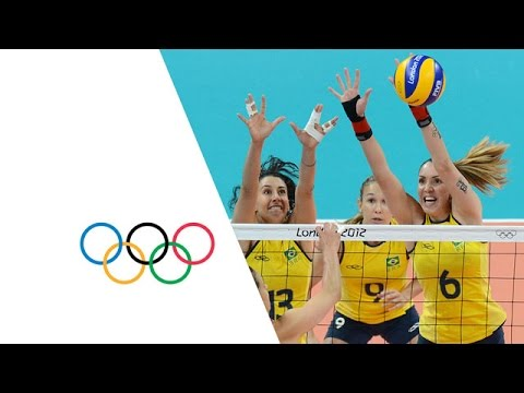 Women's Volleyball Pool B - USA v Brazil | London 2012 Olympics
