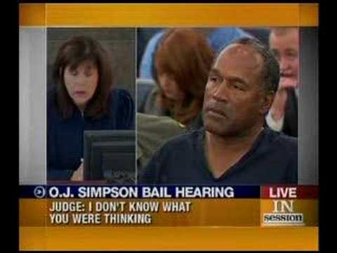 O.J. In Court Again Parole Violation 1-16-08