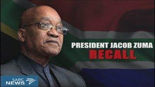 President Zuma's recall Part 2