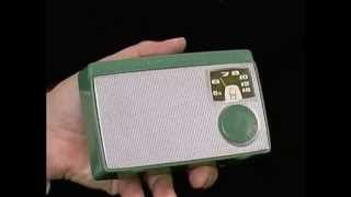 Sony TR-55 first transistor radio from Japan