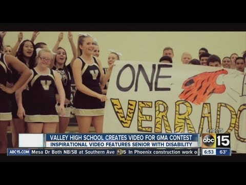 "Verrado High School ""Roar"" video features cheerleader"